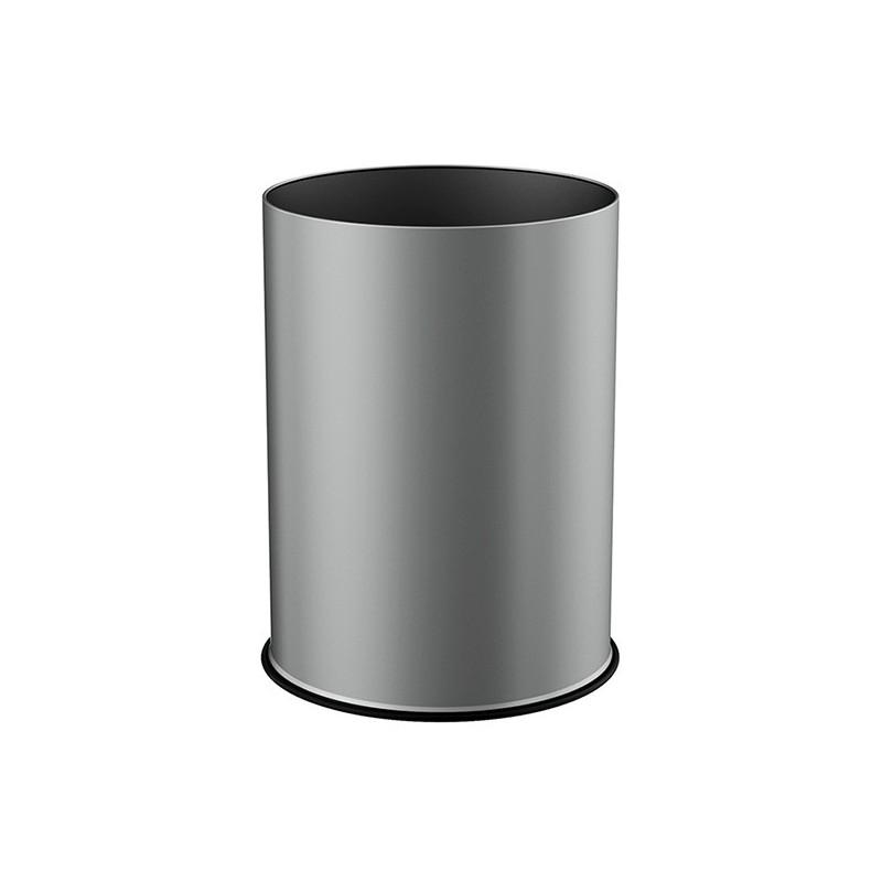 Corbeille ronde métal époxy 15L