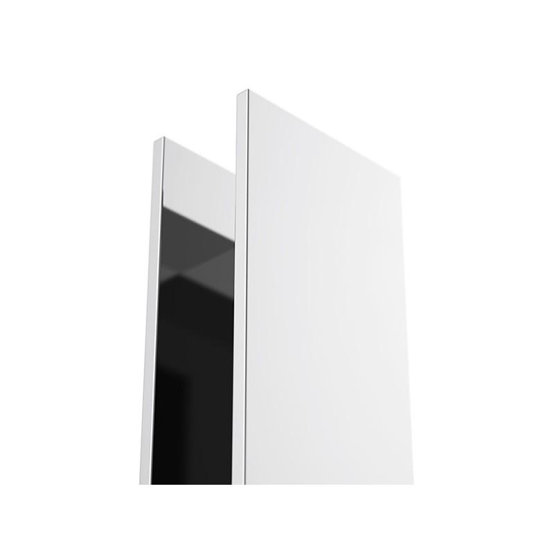 Profilé U vertical - laiton chromé 195.5cm