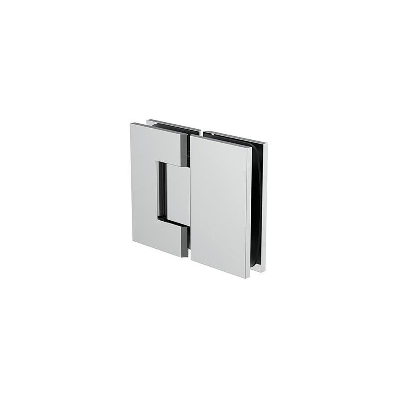 Charnière 180° panneau mobile - panneau fixe Cube
