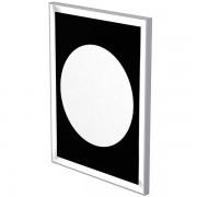 Espejo LED retroiluminado efecto cuadro y sistema anti niebla 70 x 90cm