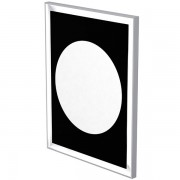 Mirror with frame and LED back lighting and defogger 70 x 90cm