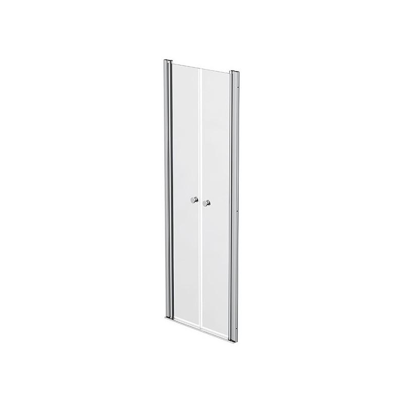 Shower screen 2 swivelling doors 67 - 70cm Emeraude