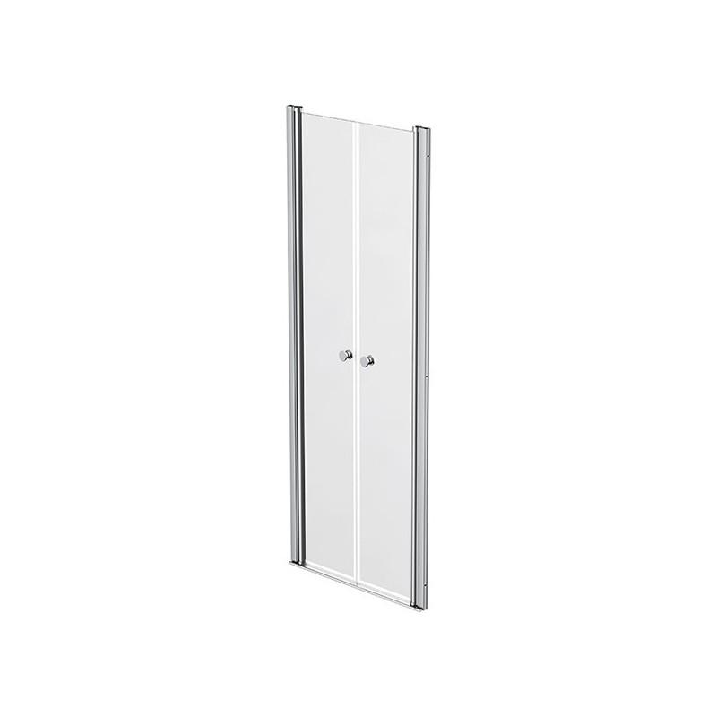 Shower screen 2 swivelling doors 72 - 75cm Emeraude