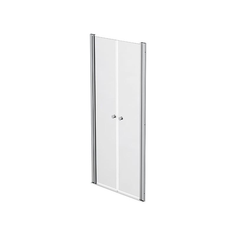 Shower screen 2 swivelling doors 87 - 90cm Emeraude