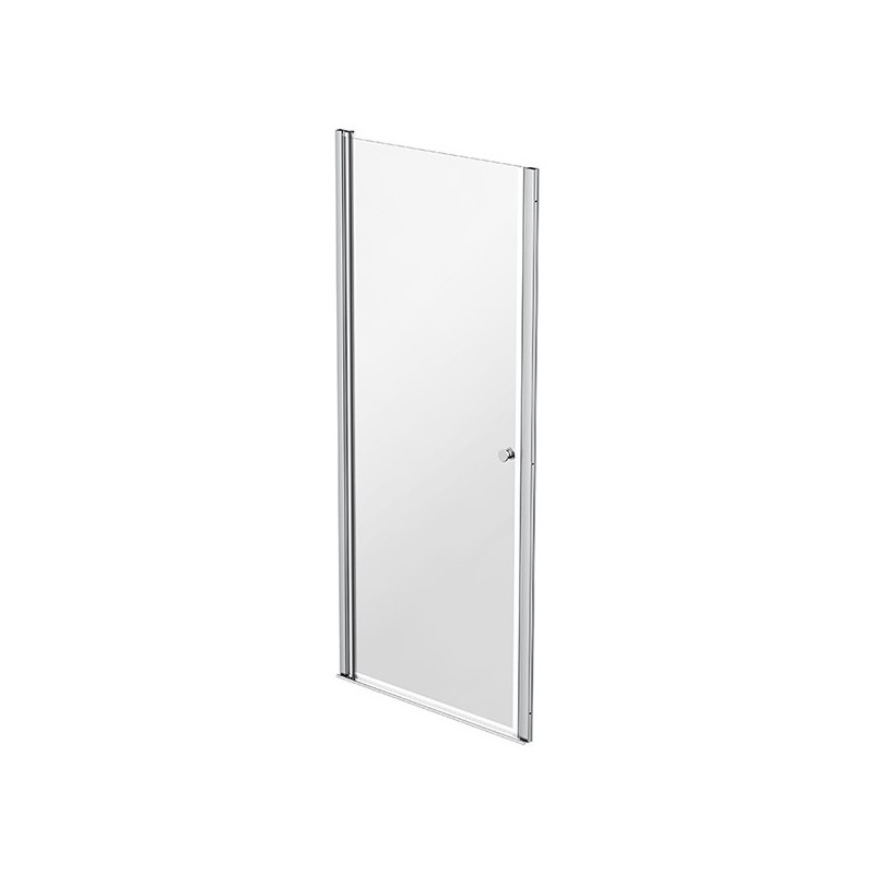 Shower screen 1 swiveling door 77 - 80cm Emeraude